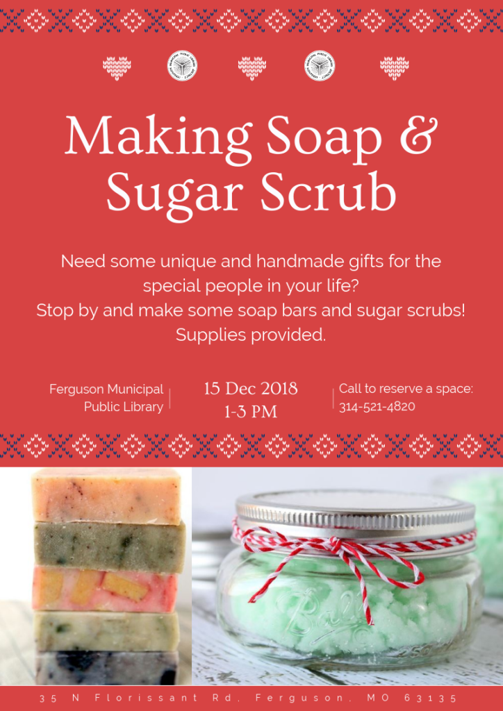 Soap and Sugar Scrub Making