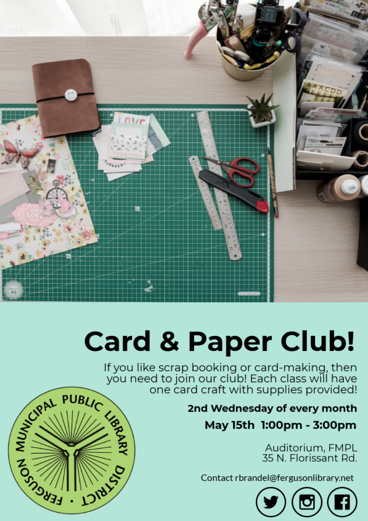 Ferguson Card and Paper Club
