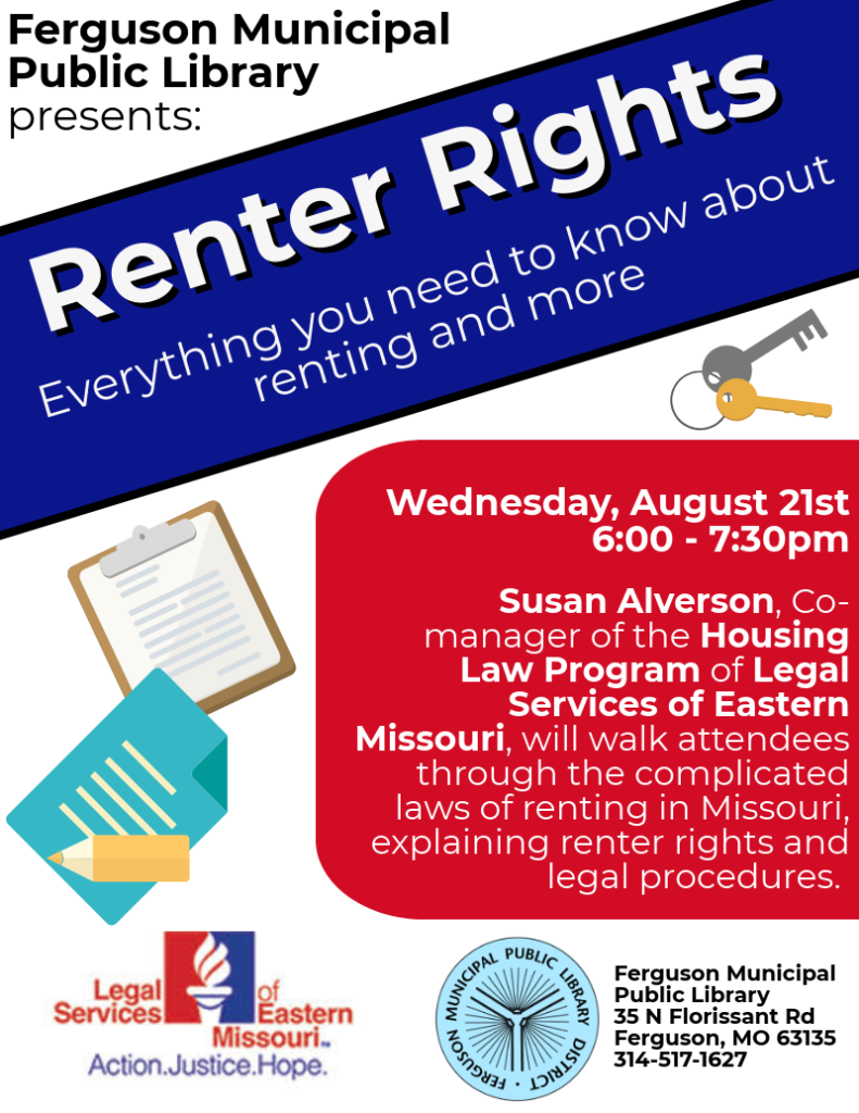 Renter Rights with Legal Services of Eastern Missouri