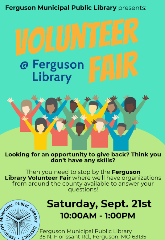 Ferguson Library Volunteer Fair